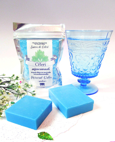 Mineral Water Soap: Aroma Whitening & Hydrating Bar