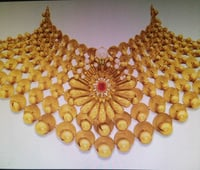 Beautiful Design Gold Necklace