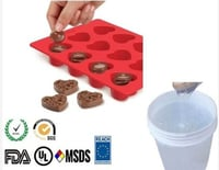 Food Grade Silicone Rubber for Chocolate Molding