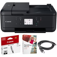 Wireless Home Office All-in-One Printer (TR7520, Black Ink Kit)