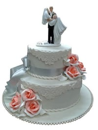 Multi-Layer Wedding Cake