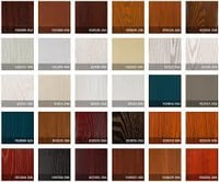 Wood Grain Color PVC Membrane Foil For Door And Furniture