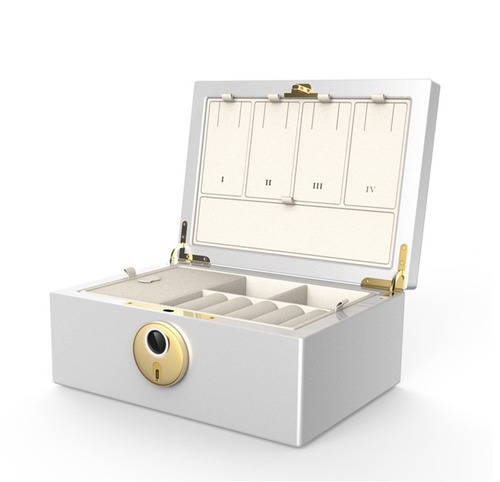 Fingerprint Authentication Security Jewelry Box