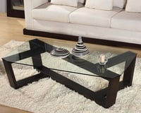 Italian Stone And Glass Coffee Tables