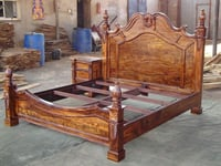 Wooden Four Poster Beds