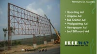 Customize Hoarding Advertising Service