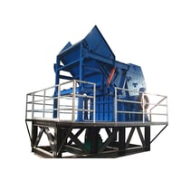 Recycling Scrap Metal Crusher