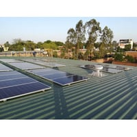 Solar Rooftop Power Panel System