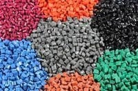 Colorful Plastic Raw Granules