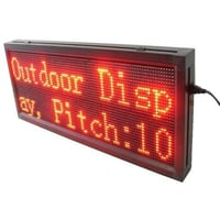 LED Scrolling Message Display Screen
