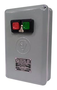 DOL Starter 3 Phase MHD2 Series With ISI Mark Contactor Upto 15 HP