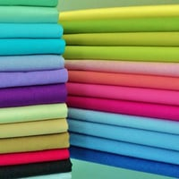 Plain Coloured Cotton Fabric