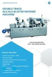Tablet and Capsule Packing Machine
