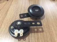 12V Universal Waterproof Tone Loud Electric Horn for Scooter, Motorcycle, E-Bike