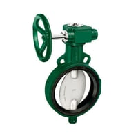 Wafer Type Butterfly Valve PN-16 with S S Disc Gear Operated