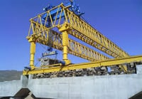 Highway Bridge Girder Erection Machine