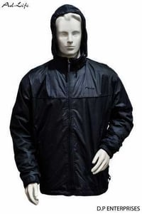 Black Rain Coats Suits