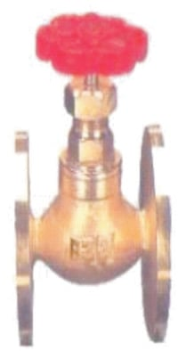 Bronze Globe Steam Stop Valve IBR Flanged