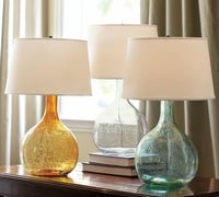 Decorative Bottle Table Lamp