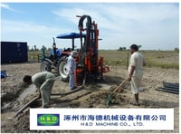 HD-T100B Tractor Drilling Rig