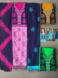 Printed Cotton Cambric Salwar Suit
