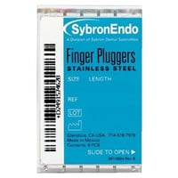 SybronEndo Finger Plugger Root Canal File Pack of 6 Files