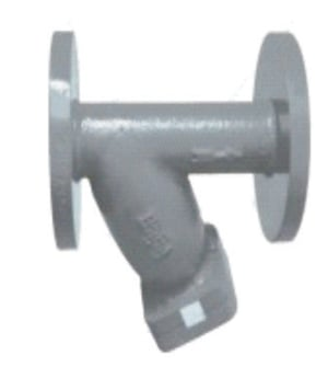 Cast Iron Y Type Strainer Flanged IBR Certified