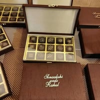 MDF Wedding Chocolate Box