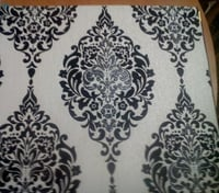 Pvc And Korean Paper Circular Printed Wallpaper