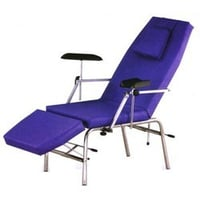 Black Blood Donor Phlebotomy Procedure Chair