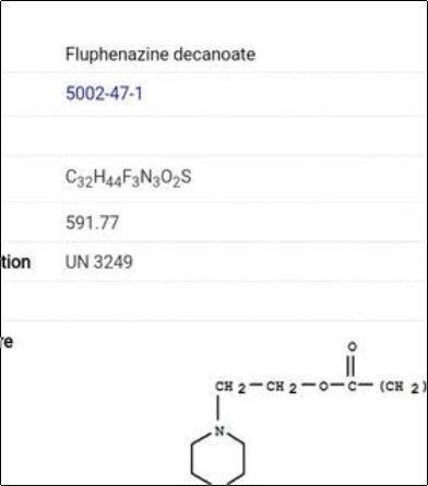 Fluphenazine Decanoate