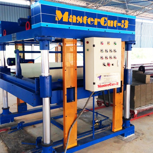 CLC (Foam Concrete) Block Cutting Machine [MasterCut-3]