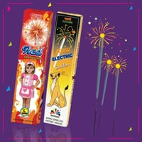 Red Sparklers Electric Crackers