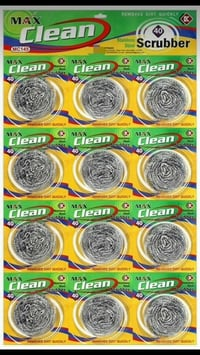 Max Clean Steel Scrubbers