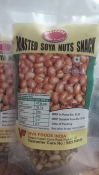 Roasted Soya Nuts Snack