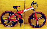 BMW Red Foldable Bicycle