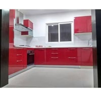 Light Weighted PVC Modular Kitchen