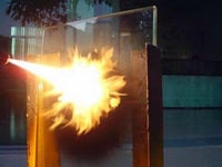 Strong Fire Resistant Glass