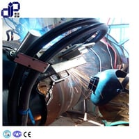 All-Position Automatic External Pipe Welding Machine With Dual Torch