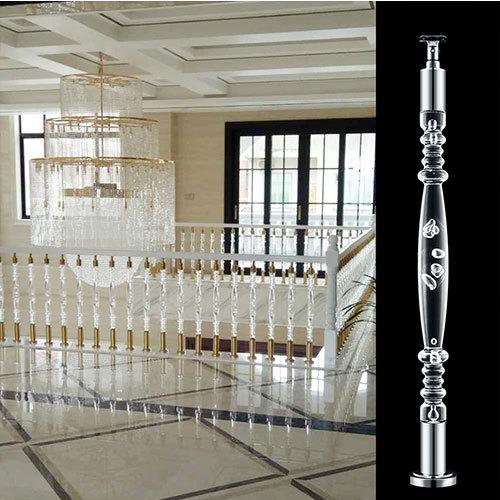 Interior Acrylic Crystal Baluster In Villa Application: Hotel
