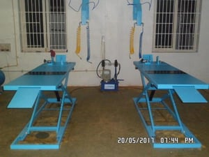 Durable Hydraulic Motorcycle Lift