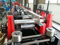 Fully Automatic C Purlin Cold Roll Forming Machine