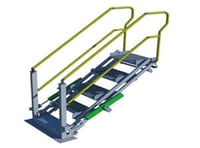 Robust Structure Folding Stair