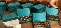 Fancy Mdf Chocolate Boxes