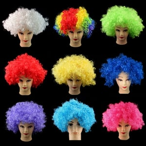 Party Wigs - Various Designs and Shapes