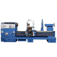 Flat Bed Spindle Bore 100mm CW6194B Conventional Horizontal Lathe