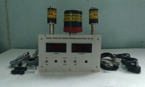 Combined Pirani And Penning Gauge With Digital Display Unit
