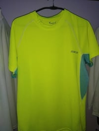 Green Mens Athletic T Shirts