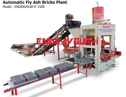 Automatic Fly Ash Bricks Plant [Endeavour-If 1500]