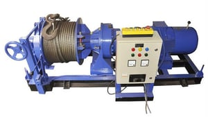 Flame Proof Electric Wire Rope Hoist